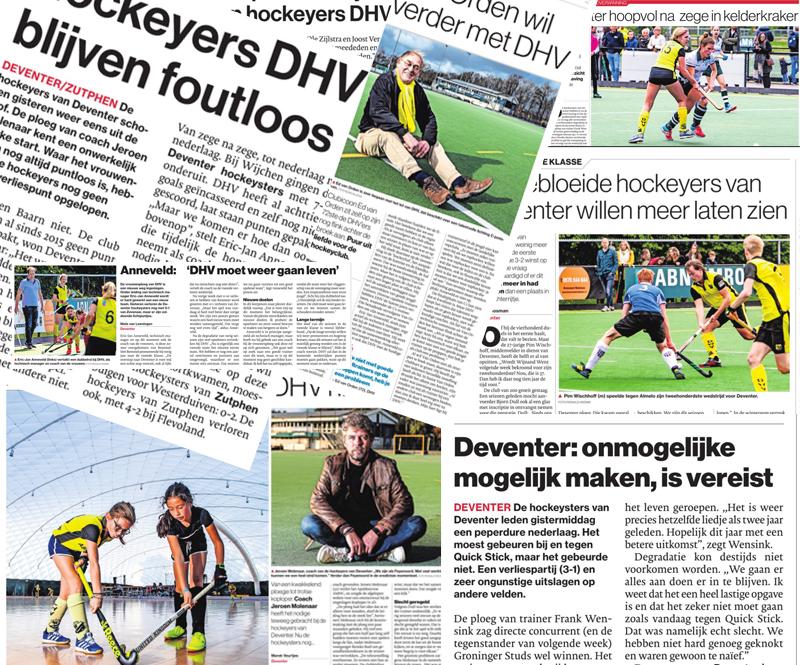 DHV in de media